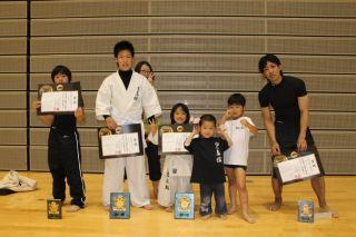 第5回統一全日本空手道選手権大会が6月9日ありました。